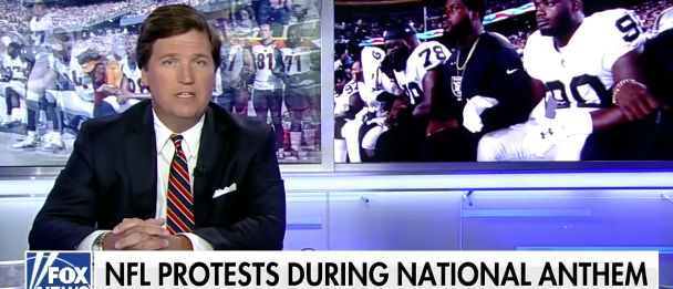Tucker Goes Off On 'DISGUSTING' NFL Protesters: 'Pampered Millionaires' Giving The Finger To America