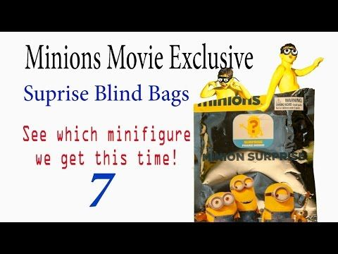 Minions Movie 2015 Minion Surprise Blind Bags 7th Surprise Pack! - YouTube