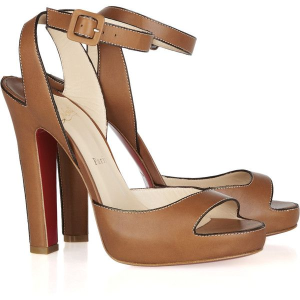 Christian Louboutin Leather Sandals.: Summer Sandals, Louboutin Viola, Wedding Shoes, 120Mm Leather, Christian Louboutin Shoes, 120 Leather, Louboutin Leather, Leather Sandals, Viola 120
