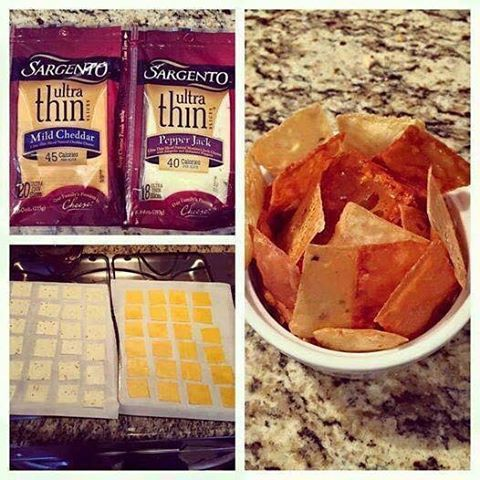 "I loves Cheezit Crackers, BUT, they are high in salt and carbs. From now on, this is my new snack :)  ... so easy...  Healthier and low carbs!!!! REAL ""Cheese-Its"" Cut each slice into 4 pieces....bake on parchment paper...35 minutes at 250"
