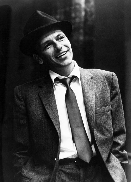Frank Sinatra  I am in a play april 27th and I play Frank.  Also singing solo The Best is Yet to come...