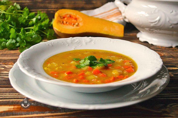 Zupa dyniowa z kminem rzymskim