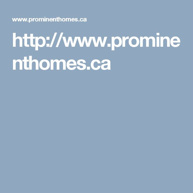 http://www.prominenthomes.ca