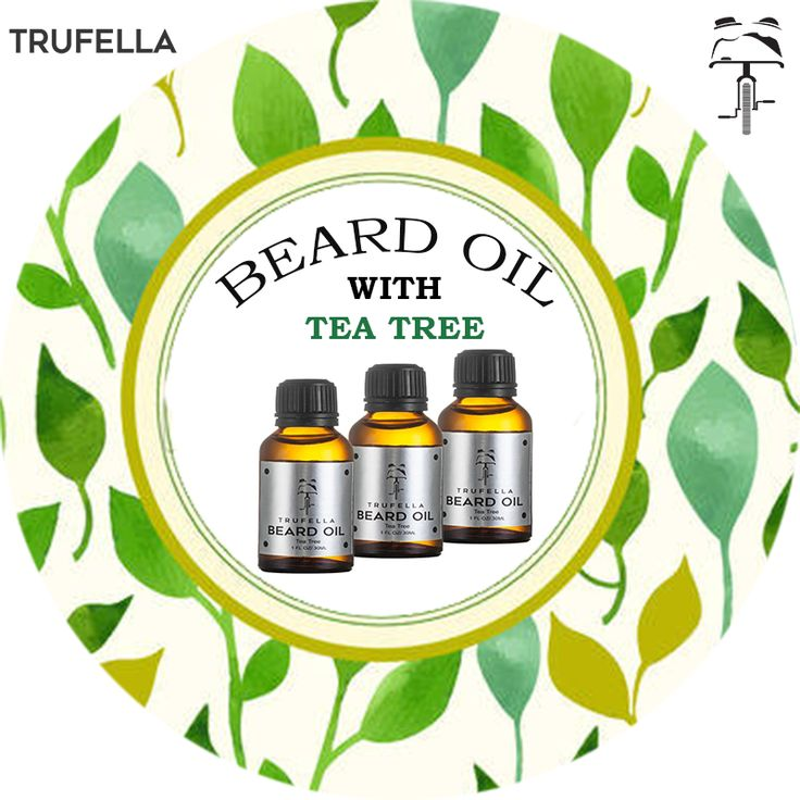 Why Tea Tree Beard Oil??  Moisturizes the facial hair and the skin beneath, Turn Your beard to ideal beard with shinier hair and smoothen touch with sweet fragrance   #Trufella #BeardOil #MenBeardCare #TeaTree #BeardProduct #UseRegular #AfterBath #Smooth&IdealBeard #IdealLook #BuyNow #NoChargesForShipping