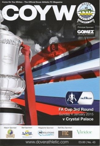 Crystal Palace vs Dover Athletic - F.A. Cup 3rd Round
