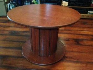 Cable spool table for sale