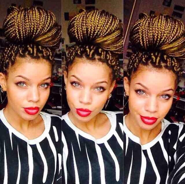 Magnificent 1000 Images About Hairstyle Crush Box Braids On Pinterest Box Short Hairstyles Gunalazisus