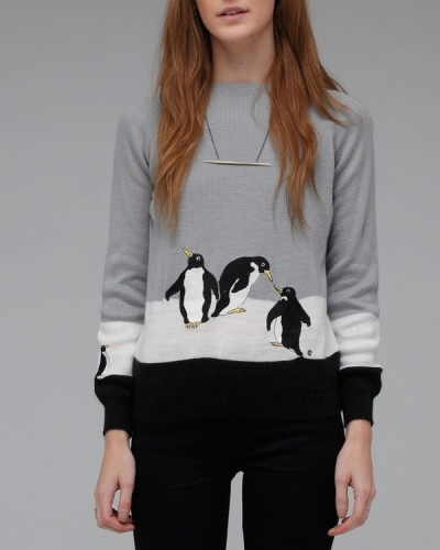 Penguin SweaterClothing Accessories Hair, Clothing Hair Makeup, Penguins Fashion, Clothing Outfit, Clothing Birds, Styles Clothing, Style Clothing, Clothing Jewely, Penguins Sweaters I