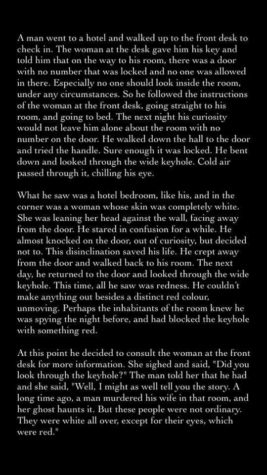 Scary Stories, oh crap that last part was creepy, because I just got a visual of it