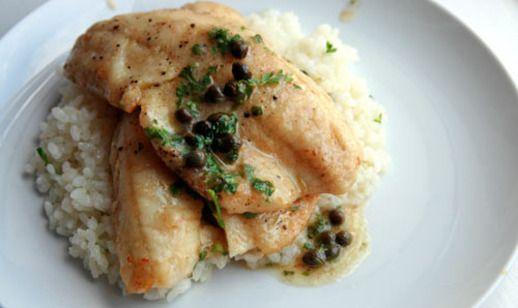 Dinner Tonight: Fish Piccata | Recipe