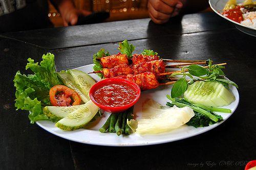 Cumi Bakar Pedes.Hot Grilled Squids