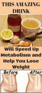 This Honey, Lemon and Cinnamon Based Drink Will Speed Up Metabolism and Help You Lose Weight - HealthyMag365