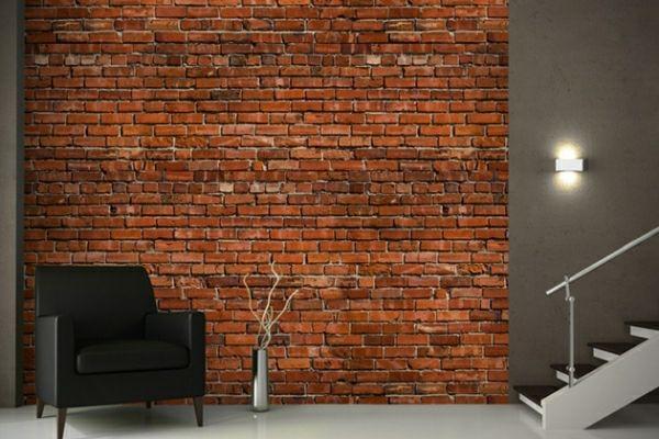 ber ideen zu tapete steinoptik auf pinterest. Black Bedroom Furniture Sets. Home Design Ideas