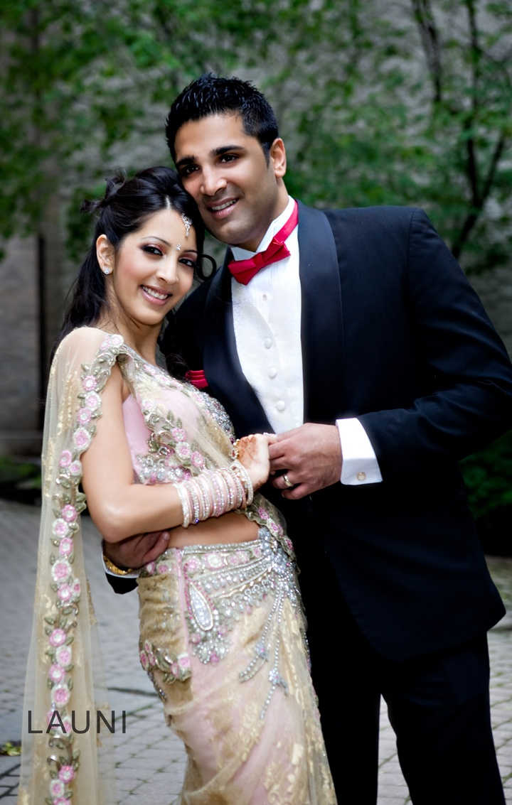 Indian Montreal Wedding Beautiful Married Couple Poonam Abbas Pinterest Indian