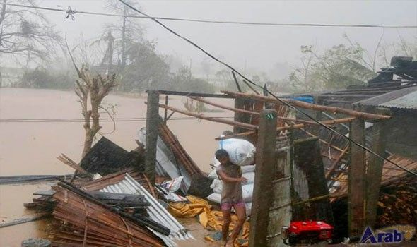 Typhoon Haima Causes Heavy Damage in South…