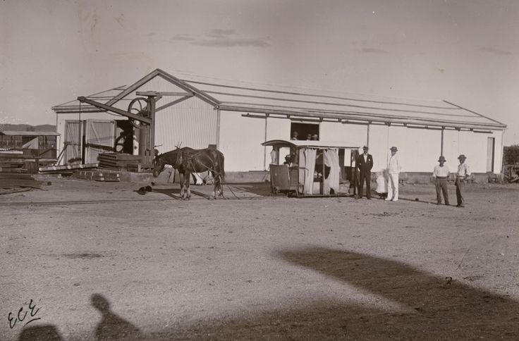 BA338/1/55: Tram leaving Roebourne for Cossack, 1900 http://encore.slwa.wa.gov.au/iii/encore/record/C__Rb4721874?lang=eng