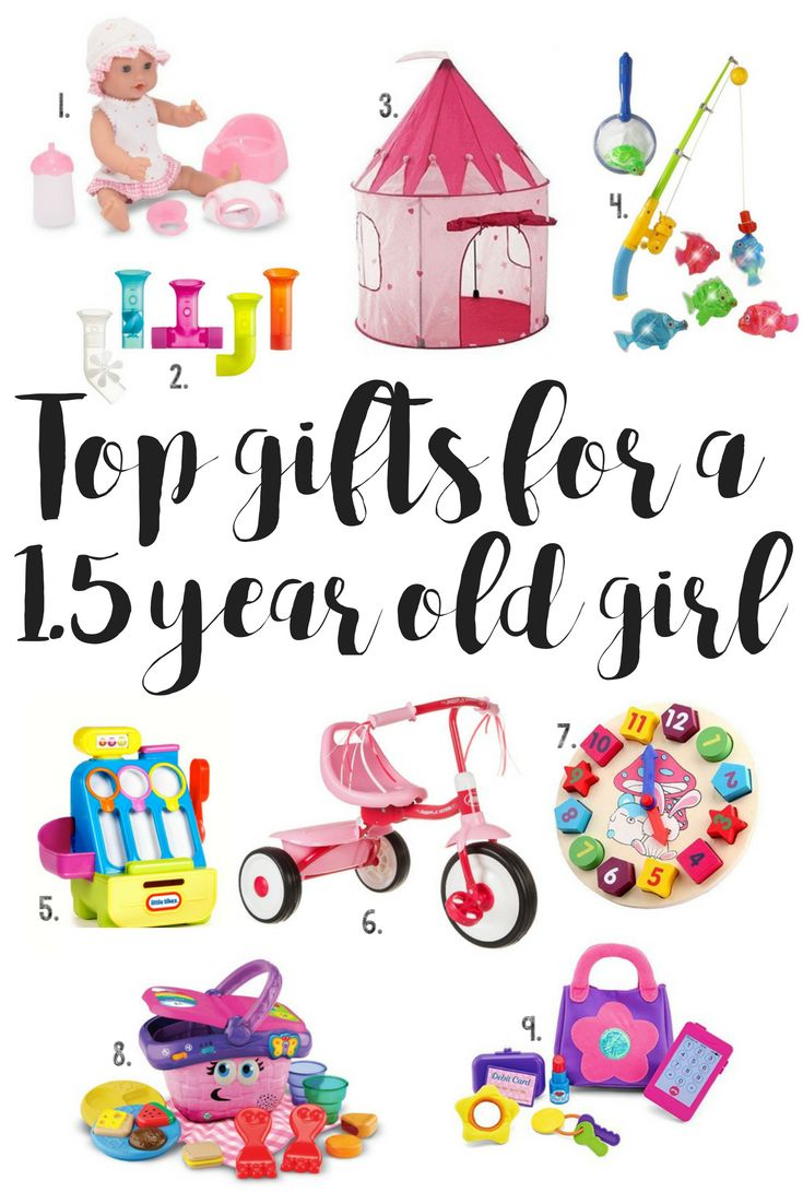 Must Buy Top Gifts for a 1.5 year old girl on Amazon. Gift guide for baby girl.