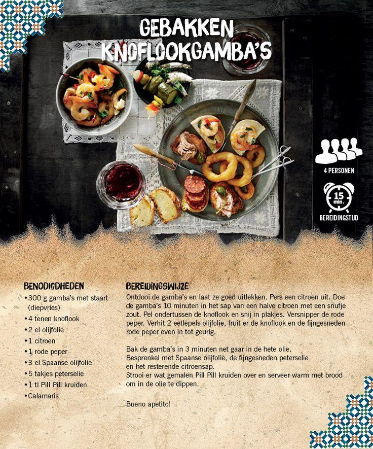 Gebakken knoflookgamba's - Lidl Nederland