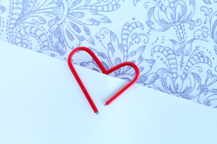 Love Grows Wild: Valentine's Day Ribbon Wreath and Paper Clip Hearts