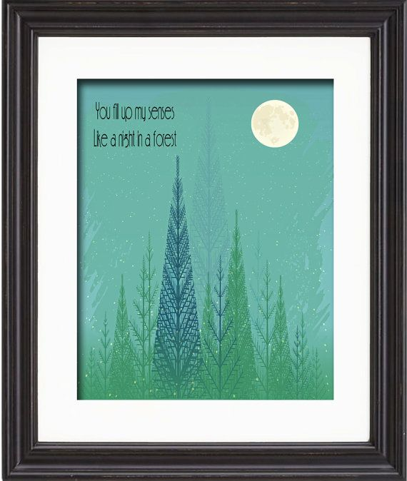 Music Song Lyric Art Print Annie's Song  John by TexasGirlDesigns