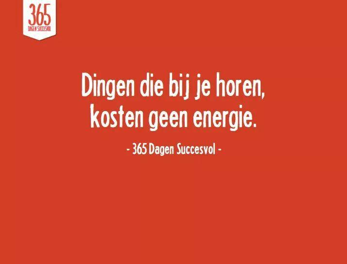 Geen energie