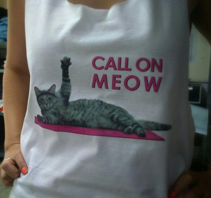 Eric Cicc - CALL ON MEOW Póló vagy trikó rendelhető! :)  A felirat színe variálható!!!  Ár: 3500.- Rendelés: goga@goga.hu