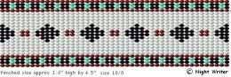 Lots of free patterns for beading on a loom, and other excellent resources for beaders everywhere.
