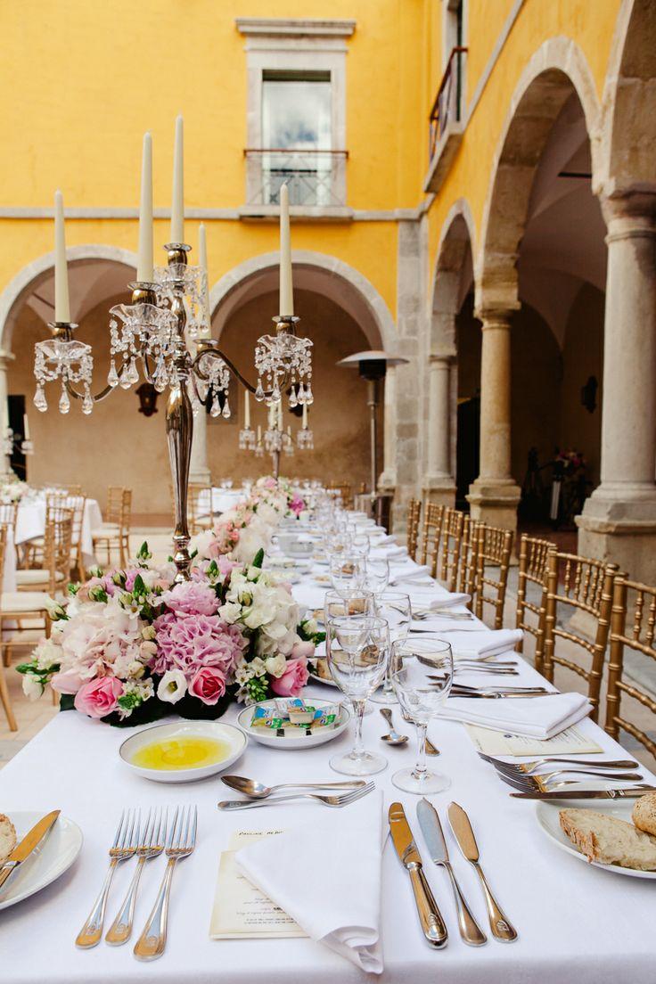 pousada de Tavira, wedding venue, Portugal, Algarve, spring wedding, yellow