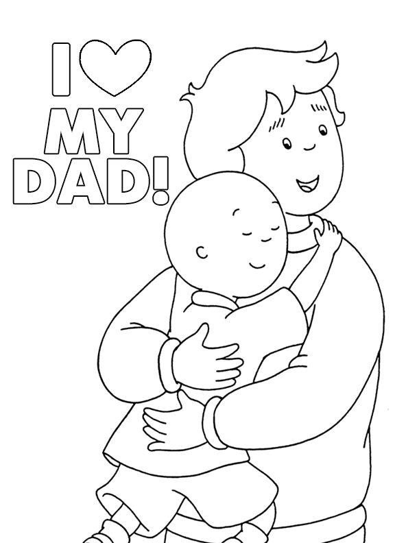 23 best Happy Father\'s Day! images on Pinterest | Caillou, Fathers ...