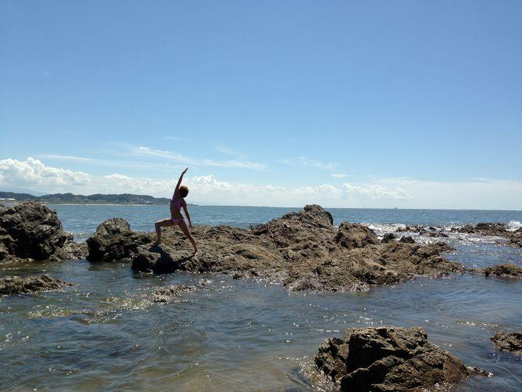 Sea yoga