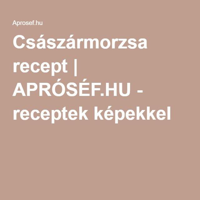 Császármorzsa recept | APRÓSÉF.HU - receptek képekkel