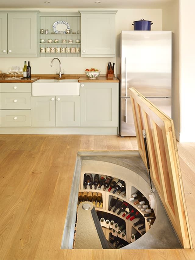 Storage Solutions: Brilliantly Hidden Kitchen Drop Zones | www.homeology.co.za