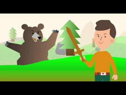 ▶ Una mà de contes - TV3 - Una mà de contes - Bernat, fort com un ós - YouTube
