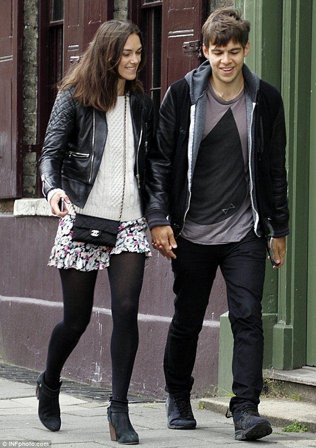 Keira Knightley looks blissfully happy with new husband Jamie Righton, May 2013.