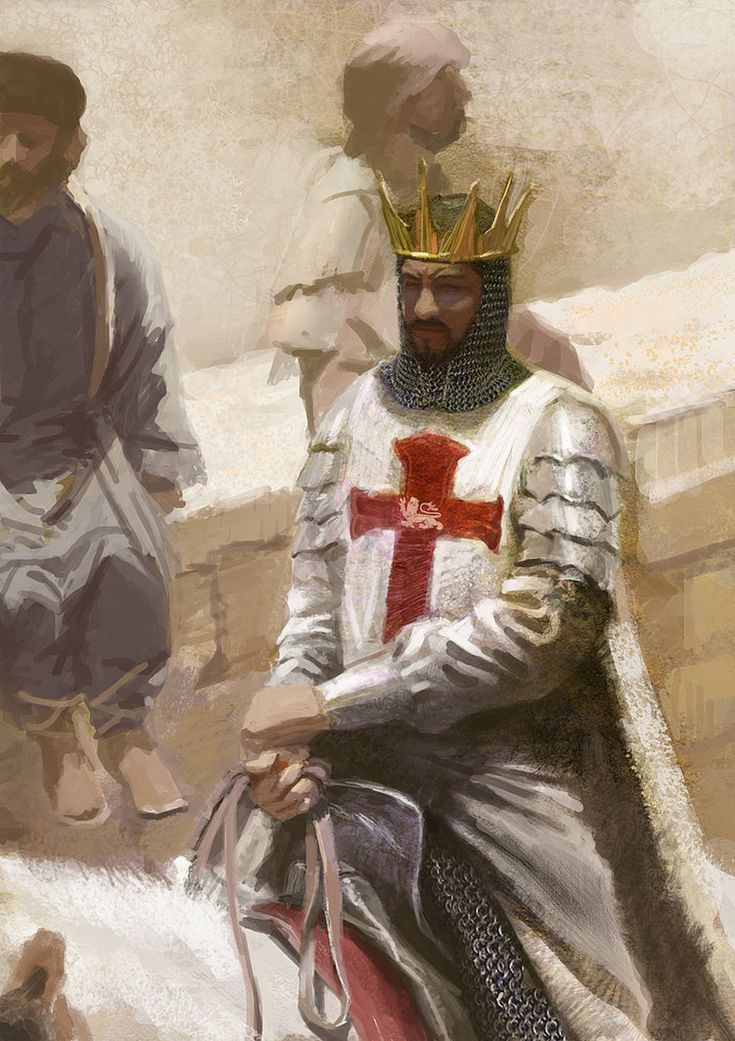 Richard the Lionheart by gacktmoon-He was known as Richard Cœur de Lion, or mainly Richard the Lionheart, even before his accession, because of his reputation as a great military leader and warrior. The Muslims called him Melek-Ric (King Richard) or Malek al-Inkitar (King of England).