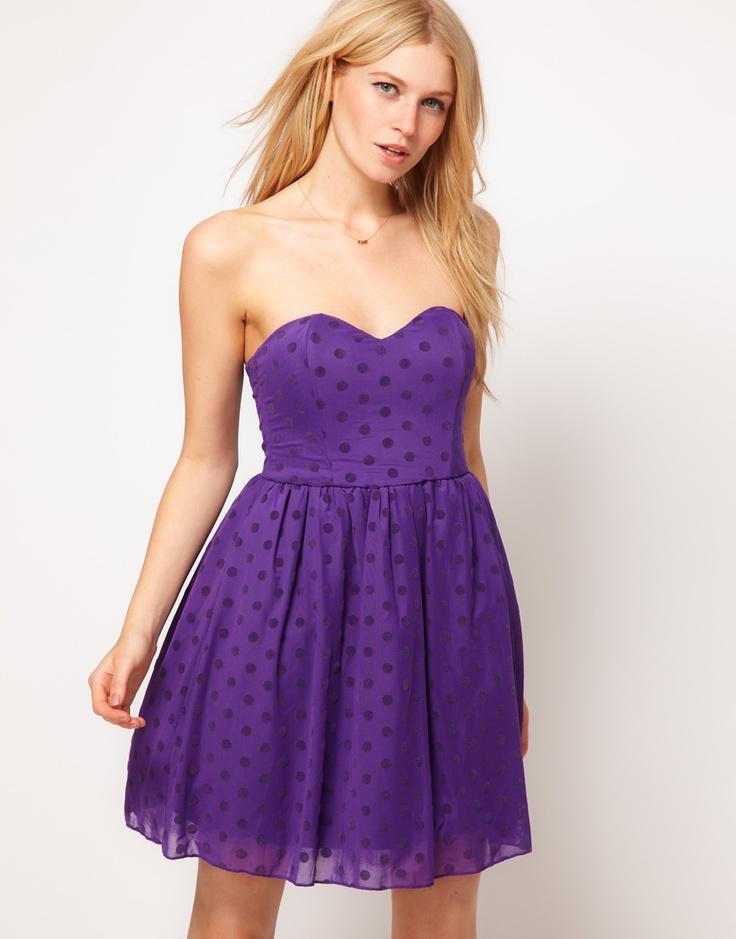 Rare Spot Mesh Bandeau Prom Dress  $68.50NOW $47.30: Asos Com, Discover Fashion, Mesh Bandeau, Bandeau Prom, Dresses 6850Now, Spots Mesh, Fashion Online, Prom Dresses, Dresses 68 50Now