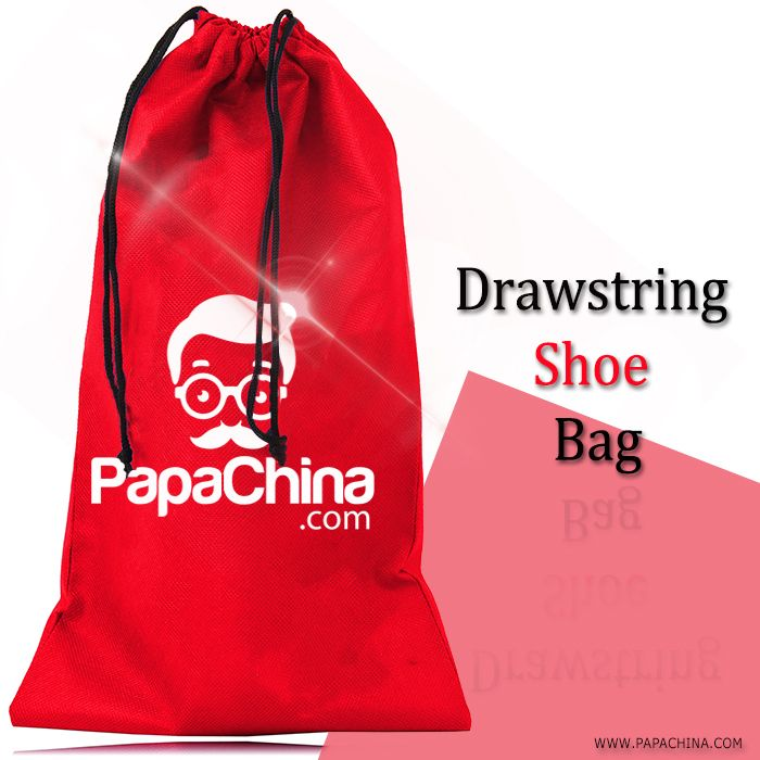 Drawstring Shoe Bag will create records among your customers by providing some of the handy features like double cords, drawstring closure, reusable which in return gives your company an exposure to the market and the product can be used as carrying shoes & things.
