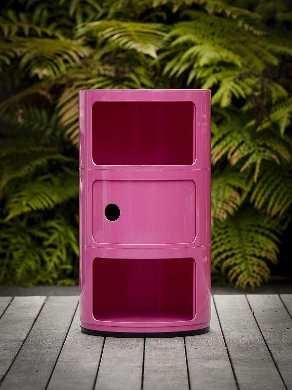 Krzesło A-ShRound BOX, kontener pink Nowość!ape PP inspirowane Organic chair