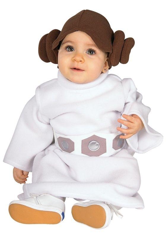 Strój księżniczki Lei dla przyszłej fanki Star Wars