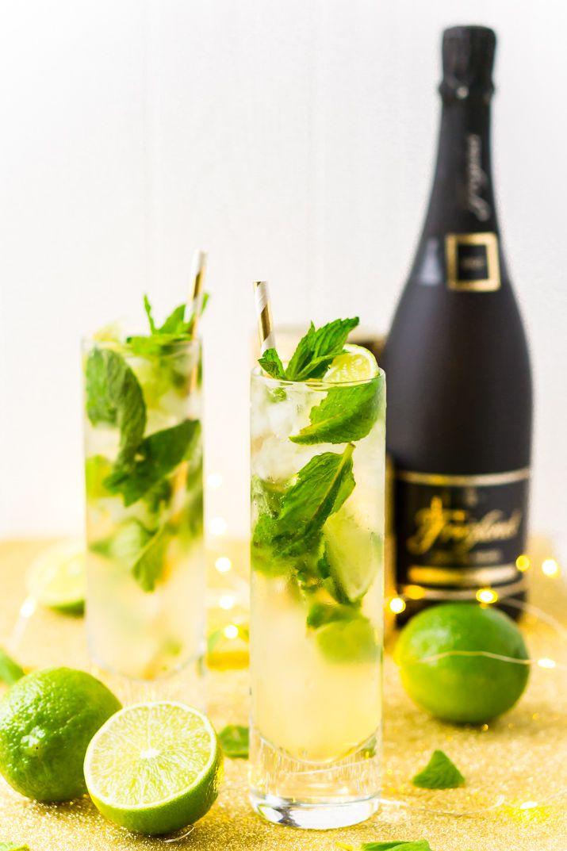 Champagne Mojito