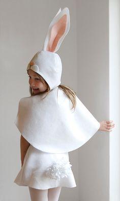 Conejito patrón DIY disfraz máscara costura por ImaginaryTail