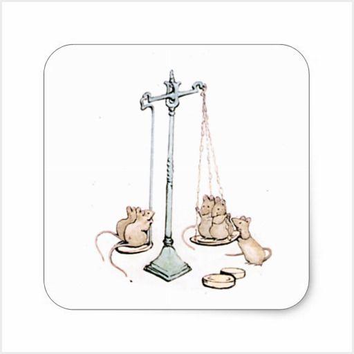 Beatrix Potter's stickers