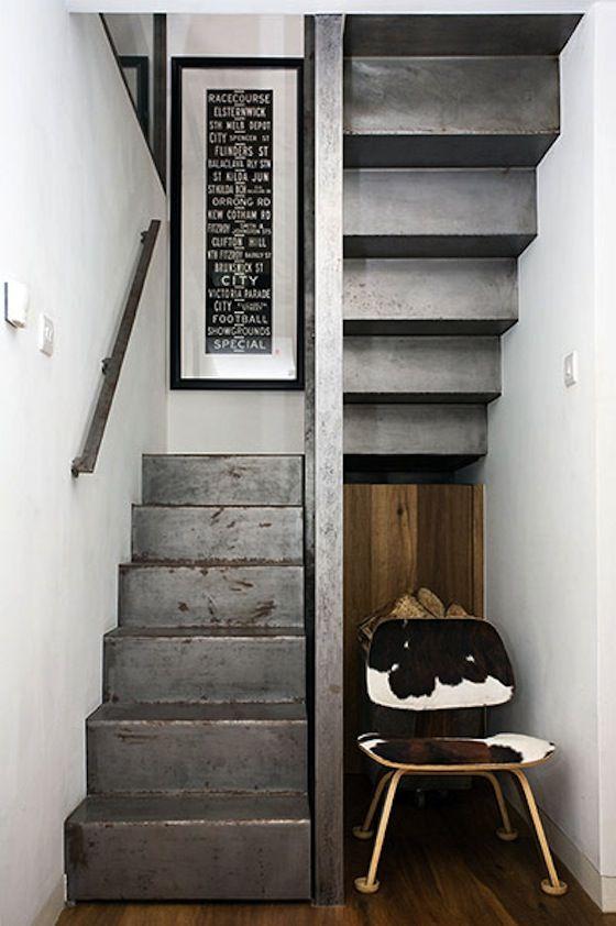 steel stairs - nice!