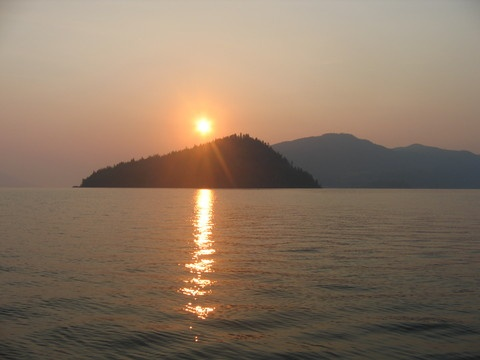 Oh how I miss this every day... Copper Is., Shuswap Lake, BC