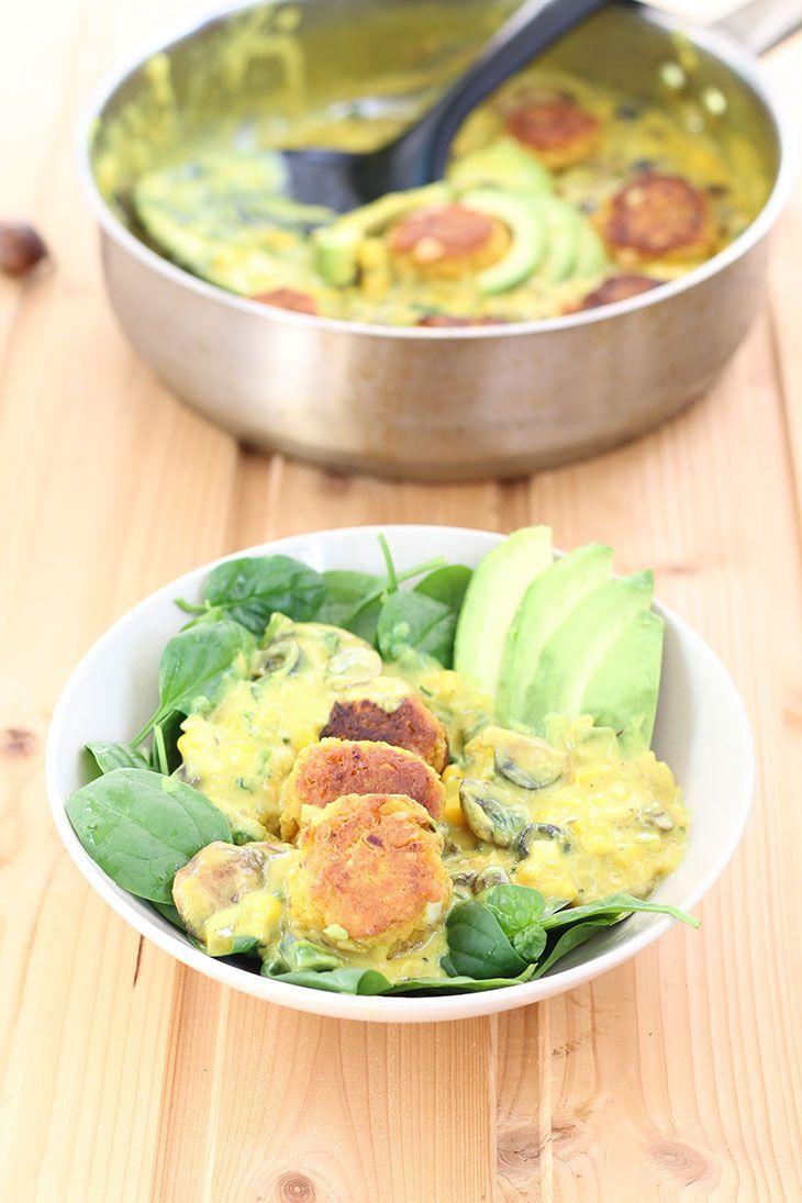 Dal Kofta   Lentil Balls in Curry Sauce   Gourmandelle   Vegetarian Blog