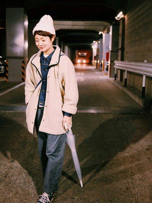 ショップスタッフ ヤマシタ アヤネ│mont-bellのジャケット/アウターコーディネート-WEAR