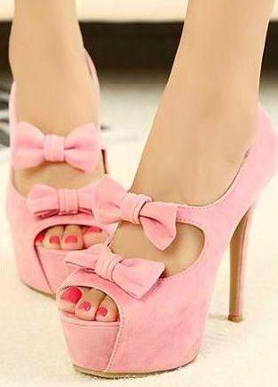 Pink High Heel Stunning Sandals