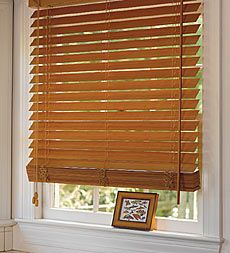 Bamboo blinds...