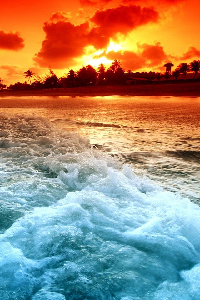 The waves of my heart leads u to your fate