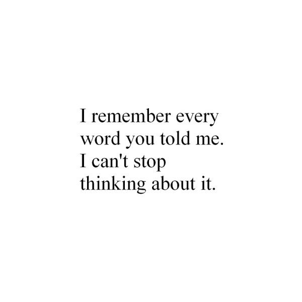 """no I don't. and I wonder what profound things i missed or have lost. I'm sorry. it's not that your words didn't mean everything - I just don't have a safe place in my head for """"your content"""". makes me sad to realize I can't know you cuz I can't hold the totality of your words and actions in my head."""